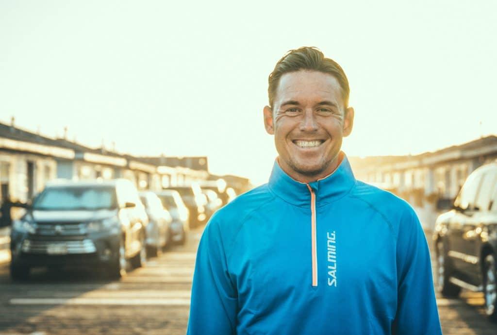 Jonas Colting, VM och EM-medaljör i triathlon cyklar för Loza