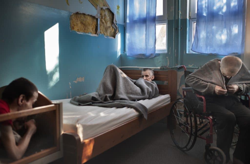 Livet på institutionen Demir Kapija i Nordmakedonien